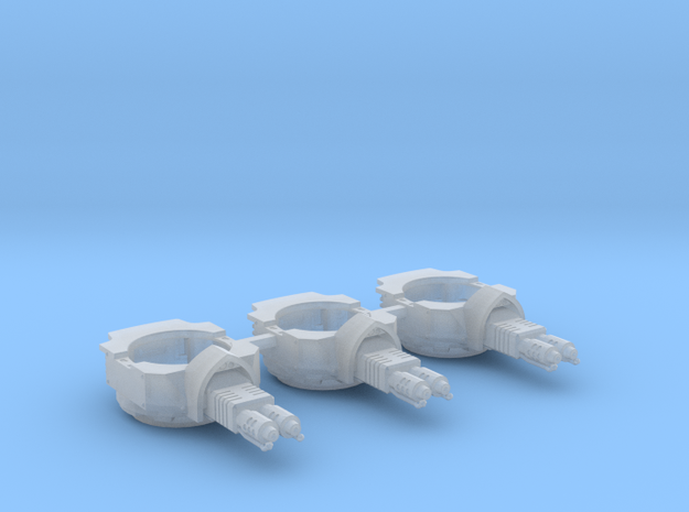 Heavy Transport Flamethrower Turret - 3 Pack