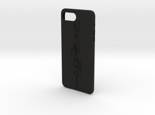 iphone 7 plus music thema in Black Premium Versatile Plastic