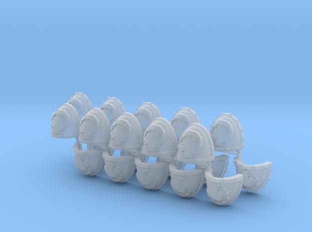 Commission 31 Power Armour Shoulder Pads set