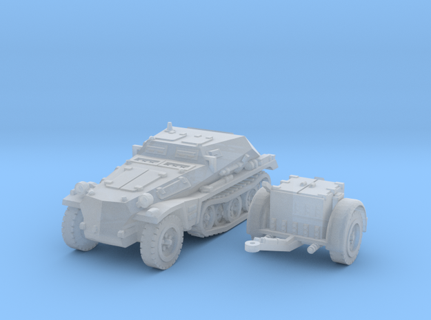 sdkfz 252 scale 1/160 in Smooth Fine Detail Plastic