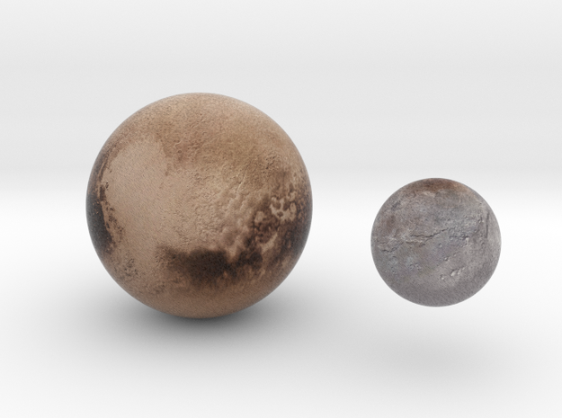 Pluto & Charon 1:150 million