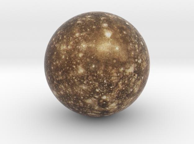 Callisto 1:150 million in Natural Full Color Sandstone