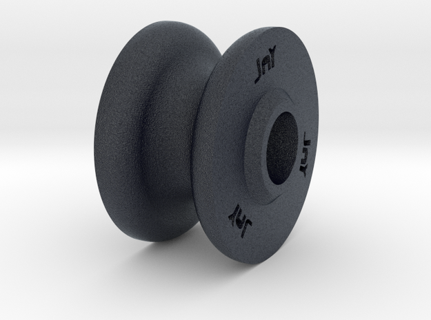 PA pulleyV5 in Black Professional Plastic
