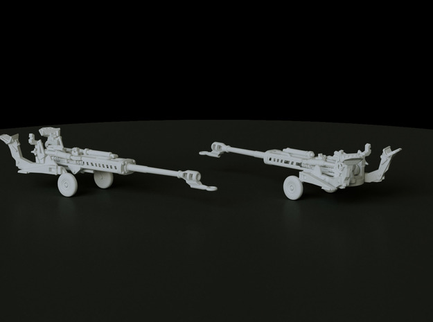 M777 Towed scale: 1:200 in Smooth Fine Detail Plastic