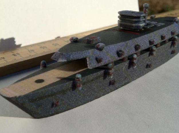 Krupp Carrier Color 1:600 x1 3d printed Printed2