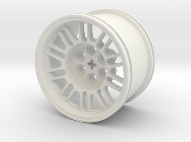 GOLF GTI TCR WHEEL V1 in White Natural Versatile Plastic