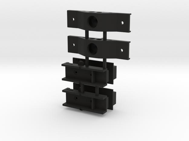 Lionel Mill Gondola Kadee Box with Ow5 Truck Conve in Black Natural Versatile Plastic