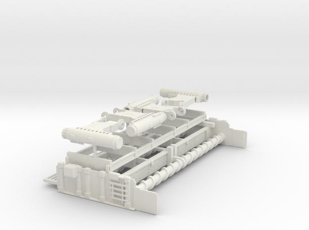 1/64th Slipform Road Construction paver file 2/2 in White Natural Versatile Plastic
