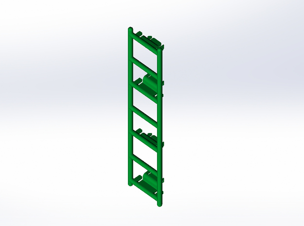 Rokenbok Ladder in White Strong & Flexible