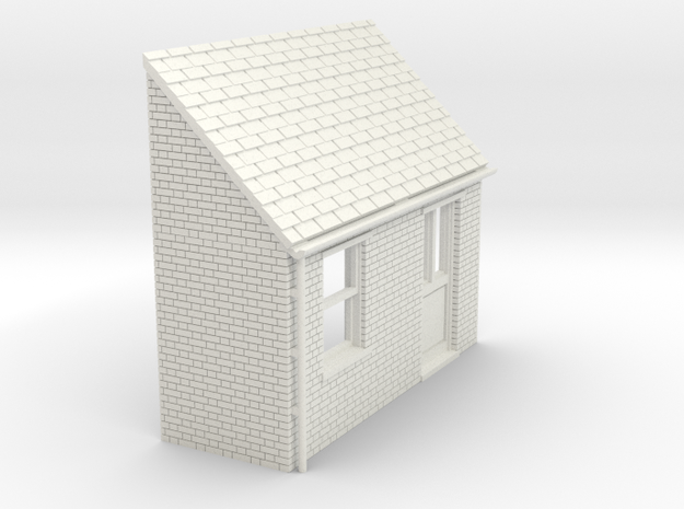 z-87-lr-house-extension-2 in White Natural Versatile Plastic