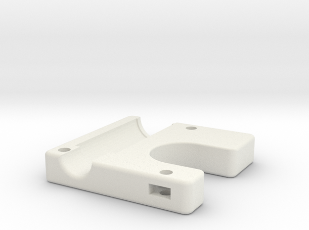 Ultimake Adapter Bottom Block in White Natural Versatile Plastic