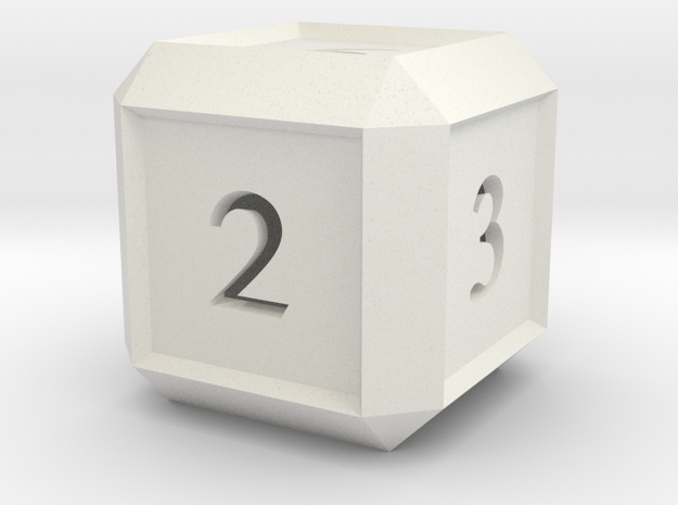 Hollow Six Sided Dice