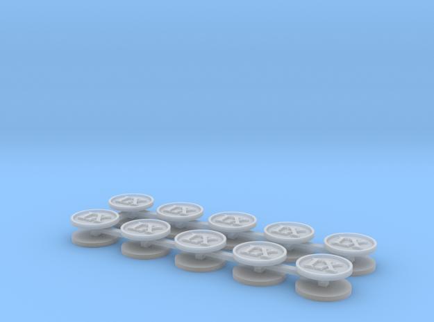 Roman numeral IX x20 in Smooth Fine Detail Plastic