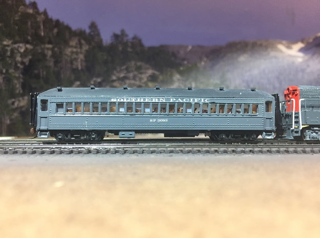 SP Suburban 72' Coach Seat N Scale in Smooth Fine Detail Plastic
