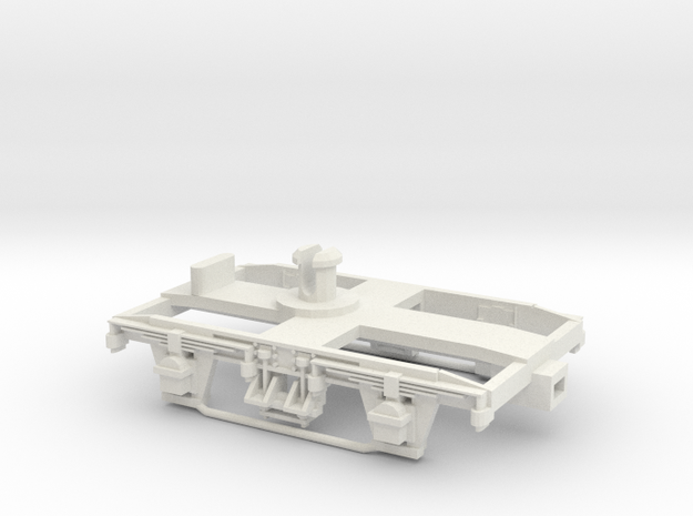 Collett 7' Bogie-Hornby fit. in White Natural Versatile Plastic