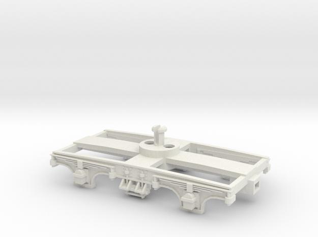 Collett 9' Bogie-LIMA Fit. in White Natural Versatile Plastic