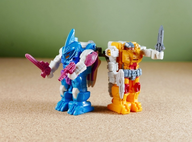 PrimeMasterWeaponsWave2 in Smoothest Fine Detail Plastic