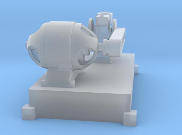 Motor-Generator-Satz (V8) mit Transmission TT 1:12 in Smooth Fine Detail Plastic