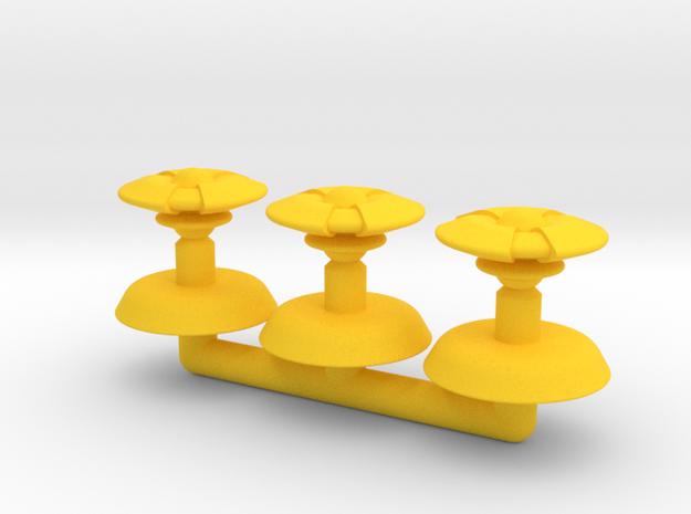 Beta Generic Small Transport Squadron in Yellow Processed Versatile Plastic