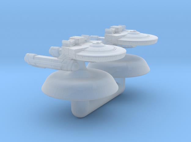 Terran Renown Mk I Frigate - 1:20000 in Smooth Fine Detail Plastic