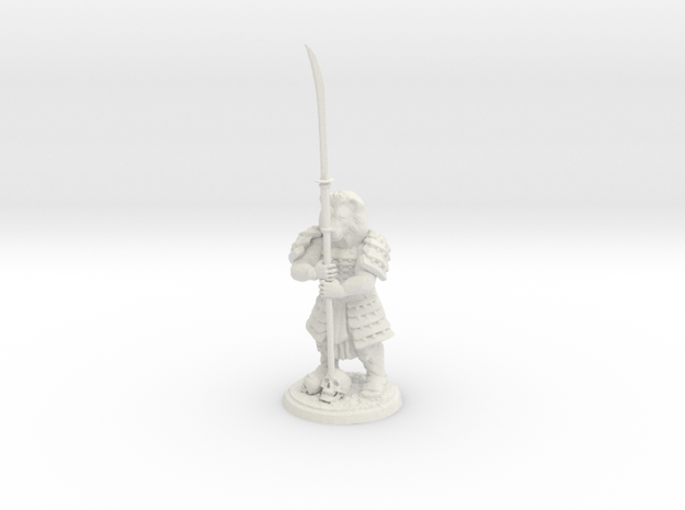 DIY Shogun Lion  in White Natural Versatile Plastic