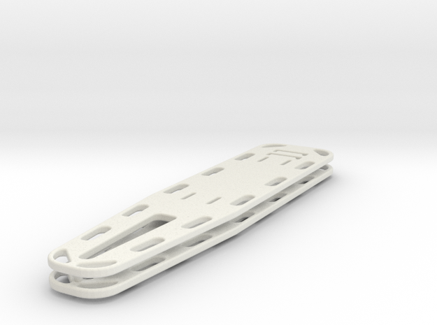 1-16_spineboard_pair in White Natural Versatile Plastic