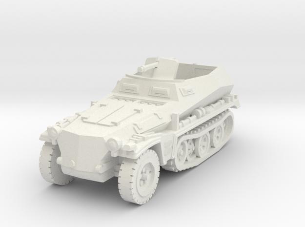 sdkfz 250 A1 scale 1/100 in White Natural Versatile Plastic