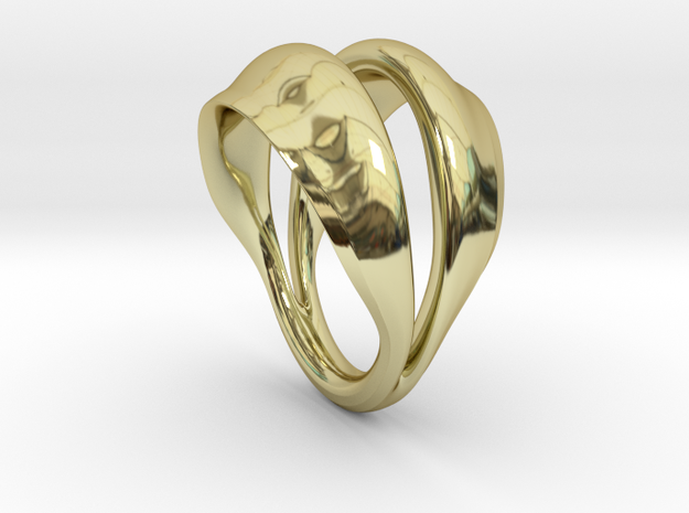 Fortune in 18k Gold Plated Brass