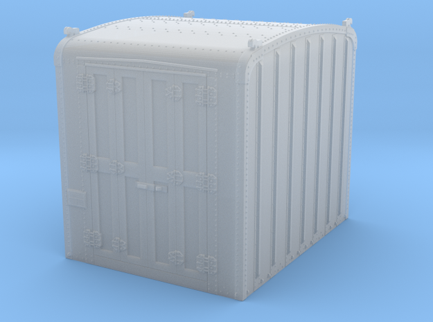 PRR DD1 container in S scale in Smooth Fine Detail Plastic