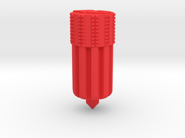 Chang Jiang 750 Solid Clutch Alignment Tool in Red Processed Versatile Plastic