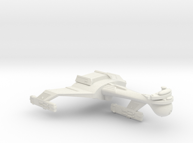 3125 Scale Klingon C5 Light Dreadnought WEM in White Natural Versatile Plastic
