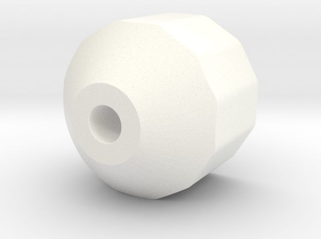 FoodSaver-style adapter for VacMaster VP112S chamb in White Processed Versatile Plastic