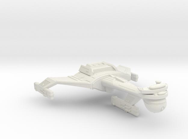 3788 Scale Klingon C5K Refitted Light Dreadnought  in White Natural Versatile Plastic