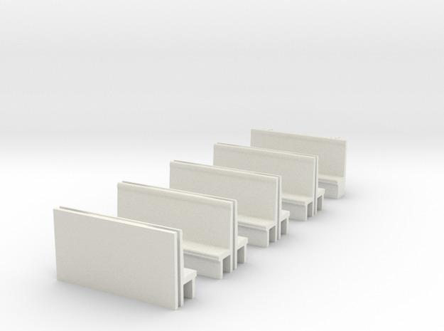 387 Seating, OO in White Natural Versatile Plastic