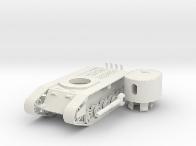 1/100 JN-1 SAU in White Natural Versatile Plastic