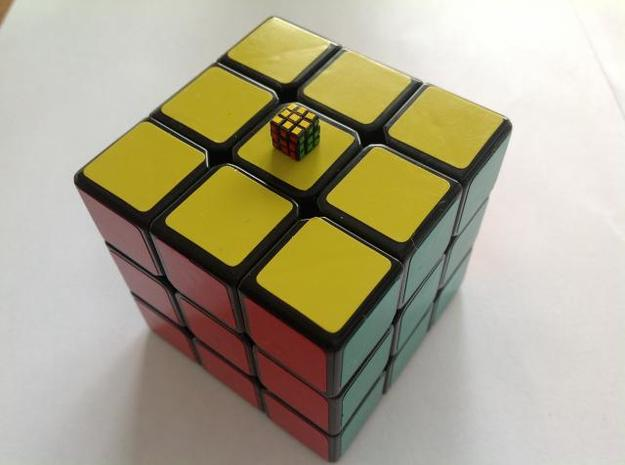 Subatomic Cube - Former World's Smallest Rubik's C 3d printed