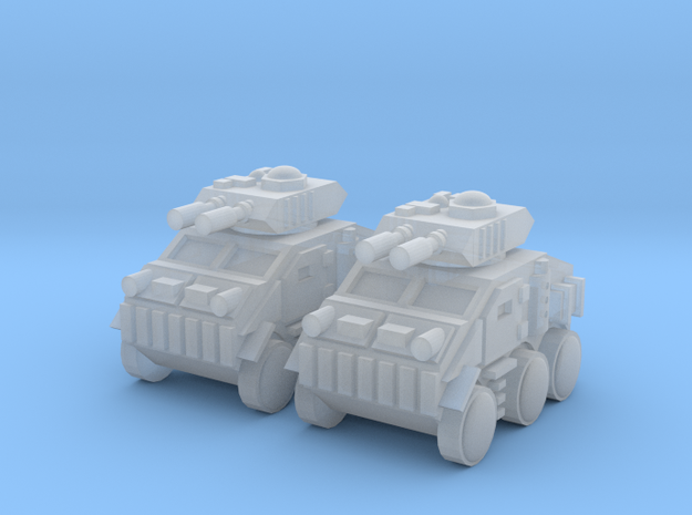Heavy Mobile Beast Tank in Smooth Fine Detail Plastic