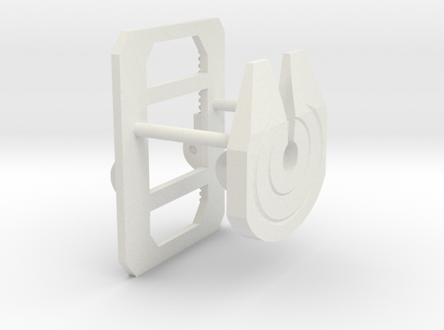 1/32 to 1/34th scale fifth wheel plate
