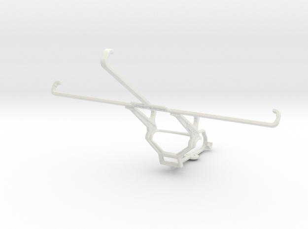 Controller mount for Steam & Asus VivoTab 8 (M81C) in White Natural Versatile Plastic