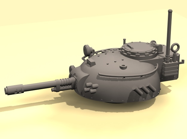28mm Rauber tank turret - auto cannon