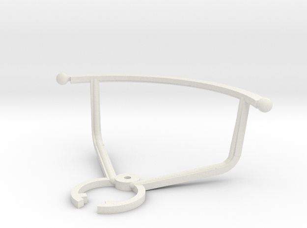 Guards for X-Drone Nano 2.0   in White Natural Versatile Plastic