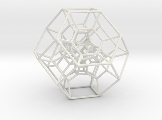 Permutohedron of order 5 (full) in White Natural Versatile Plastic