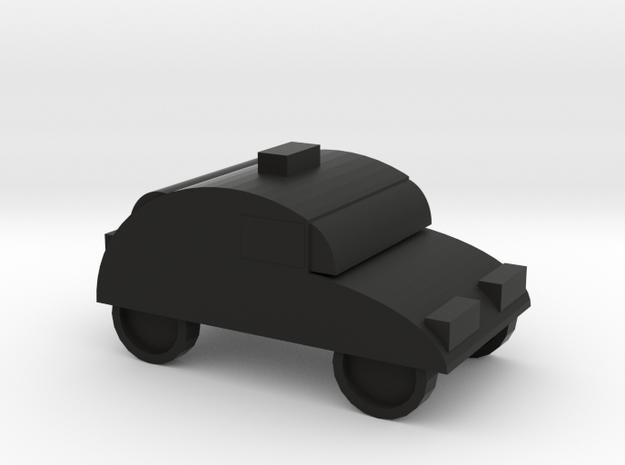 car in Black Premium Versatile Plastic: Medium
