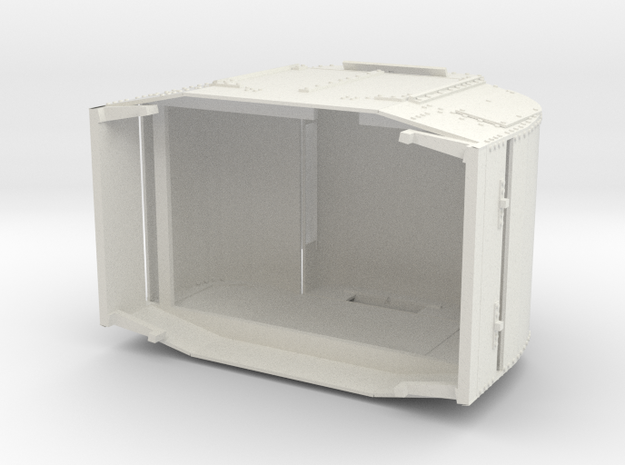 a-1-12-armoured-simplex1 in White Natural Versatile Plastic