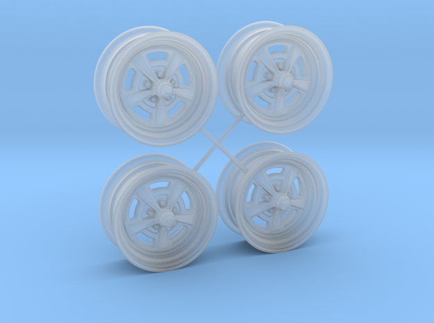 1/25 HQ GTS Wheels 7x14in  in Smooth Fine Detail Plastic