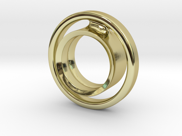 keep it 100 in 18k Gold Plated Brass