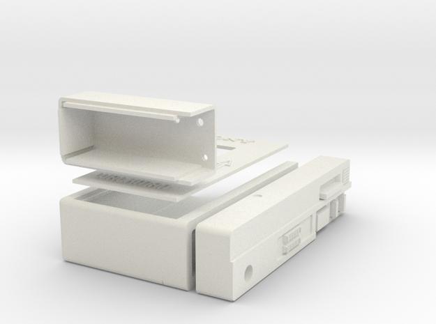 GOTG Pinball Mod Tape Player in White Natural Versatile Plastic
