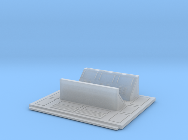 Set-1 CC Wall Console-01-Short-72 in Smooth Fine Detail Plastic