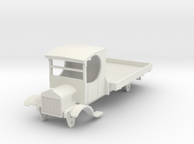 0-55-ford-lorry-1a in White Natural Versatile Plastic