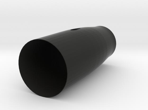 """CAT 6"" Dynamax Thrust Tube in Black Natural Versatile Plastic"